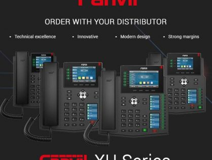 Fanvil XU Series Enterprise IP Phones in Qatar